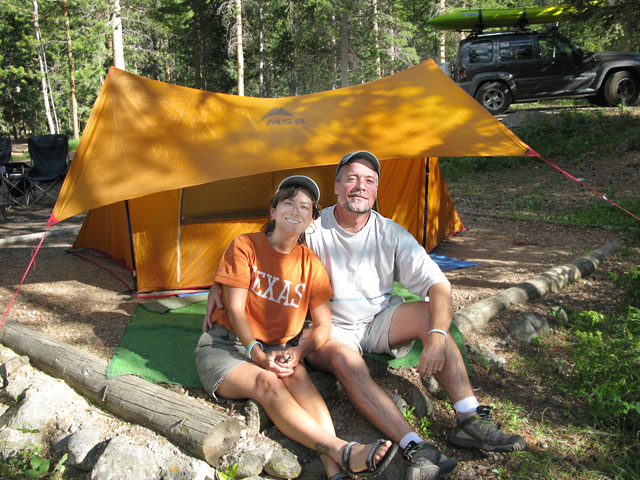 Jim and Rene Roosevelt Wilderness Tent Camping