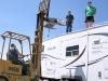 EagleSat Repairs MotoSat F2 Satellite Dish on Artic Fox Fifth Wheel