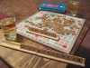 Scrabble and Champagne first night in new home