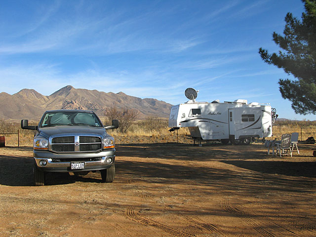 Arizona Caretaking Job RV Parking
