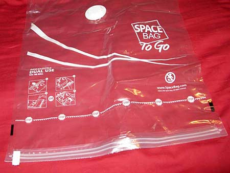 Space Bags Clear Clutter