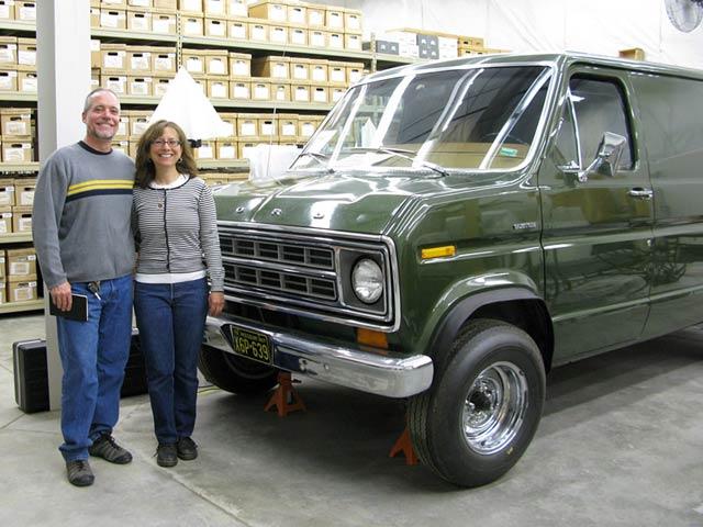 Live Work Dream Team with Blue Highways Ghostdancer Van