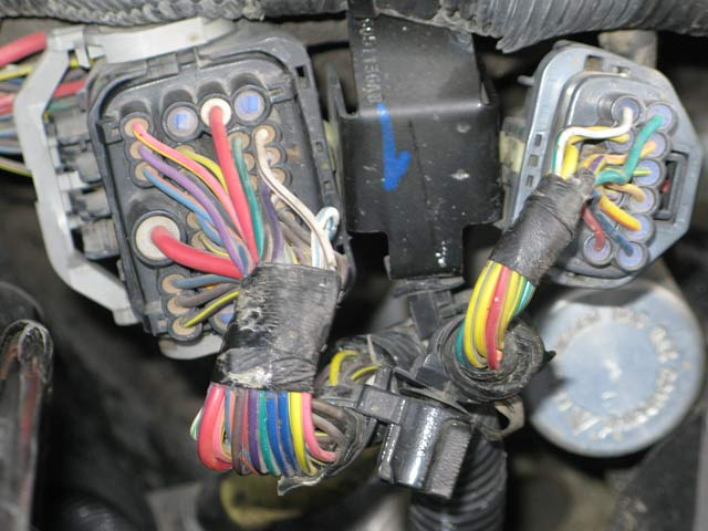 20121226w_lightfix05 how to cheap fix dodge ram low beam headlight faulty tipm 2006 dodge charger engine wiring harness at soozxer.org