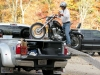 Truck Bed Motorcycle Ramp Bike Winch