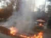 Stoney Creek RV Park Leaf Pile Burns