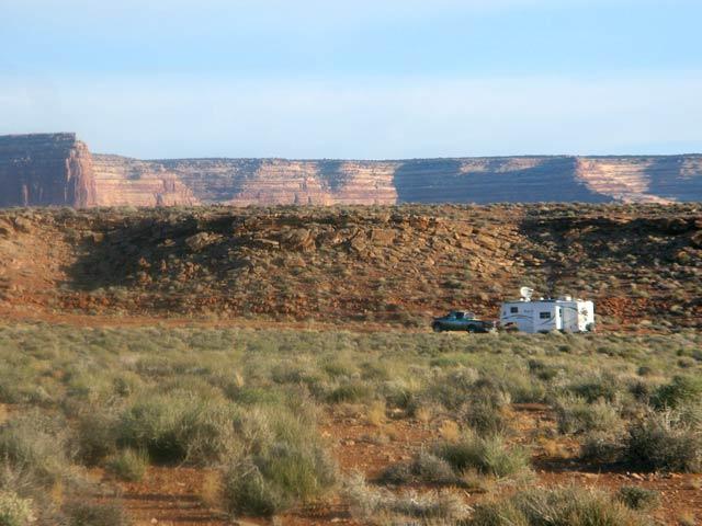 Goosenecks Utah State Park Free RV Boondocking
