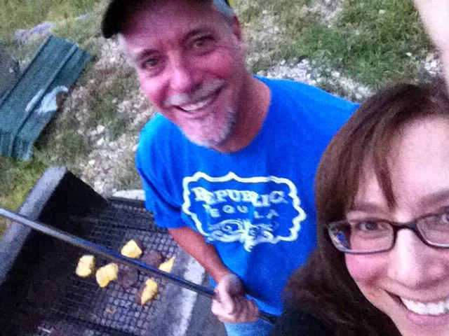 Our last burger nite at Vickers Ranch 2013