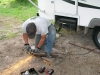 Fifth Wheel RV Trailer Steps Repair