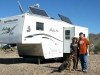Team Agreda at Mobile HQ in Quartzsite