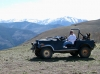 Old Blue Jeep Atop Vickers Upper Ranch