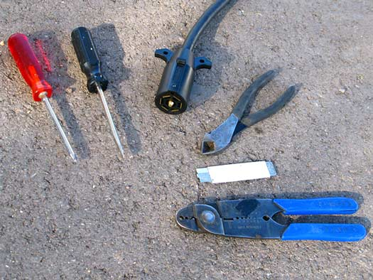 Tools to fix RV Trailer Cord Plug