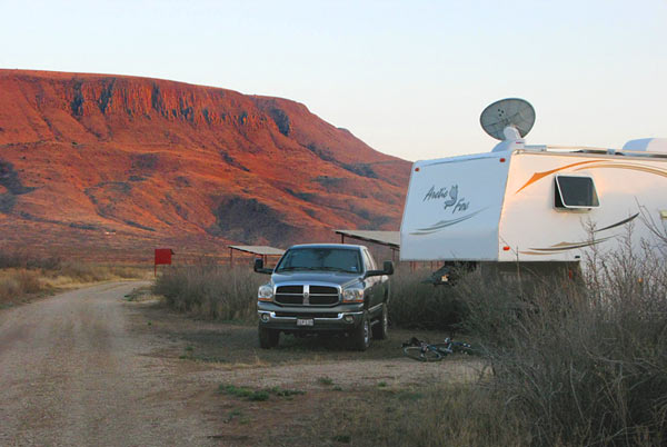 RV satellite Internet boondocking West Texas