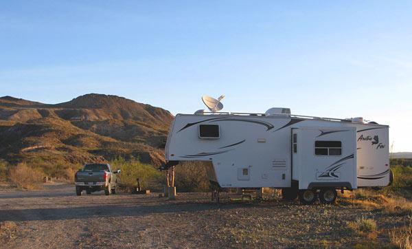 Big Bend Texas RVing camping full-timing
