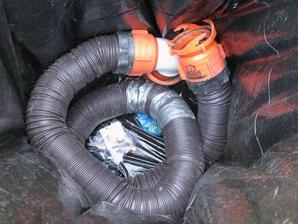 RV, sewer hose, garbage, cheap, upgrade