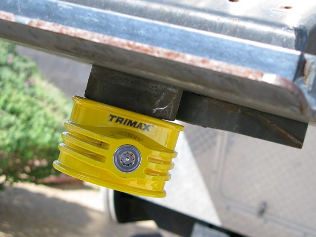 TriMax Fifth Wheel Hitch Lock