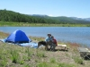Camping at Joe Bob Lake