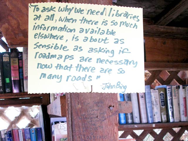 slab city library quote