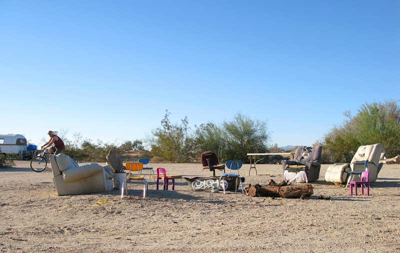 Slab City Library Poetry Circle