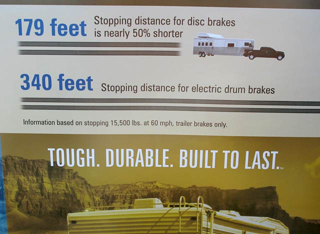 Titan Trailer Disc Brakes Quartzsite Booth