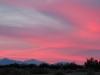 Sunset over Slab City, USA