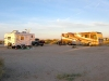 Slab City Morning over Nü RVers Camp