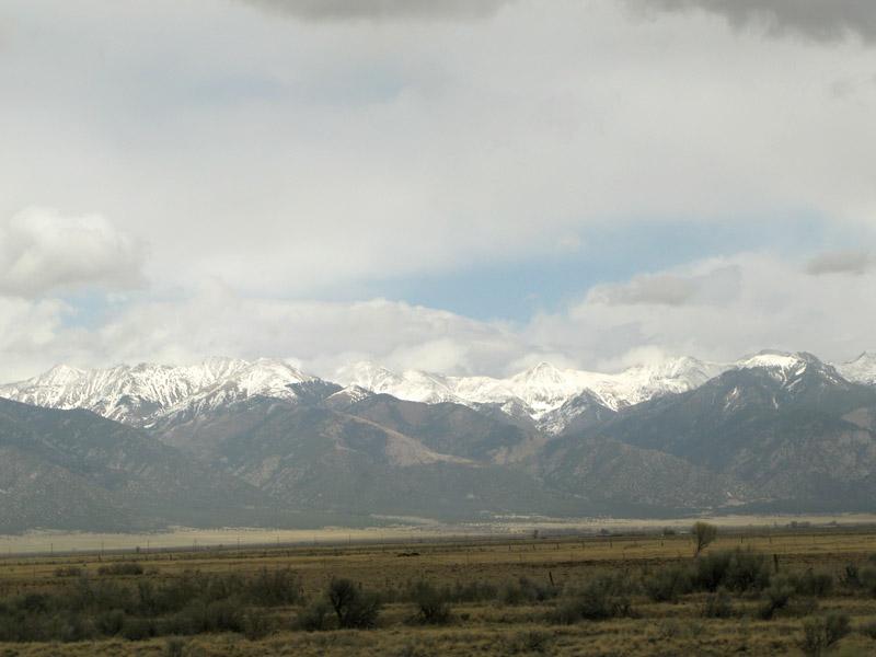 Storming in the Rockies near Salida, Colorado