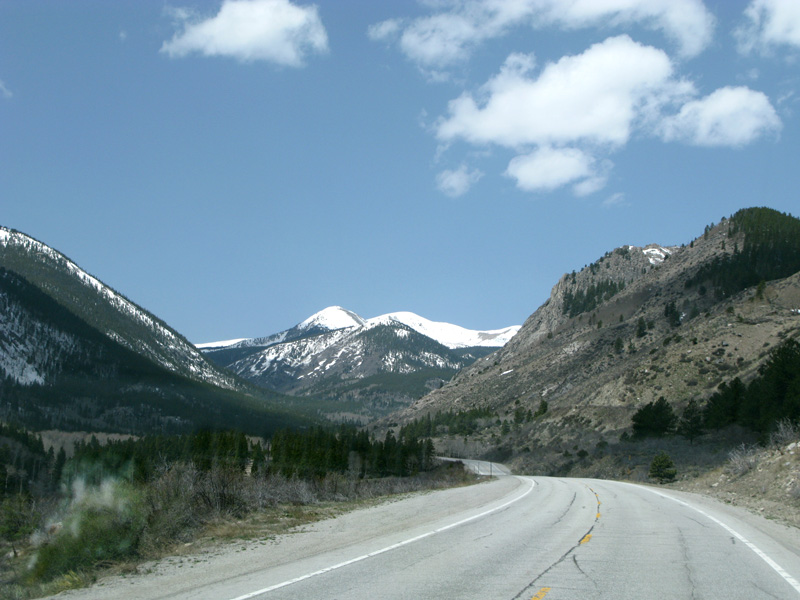 HWY 50 from Gunnison, CO over Monarch Pass
