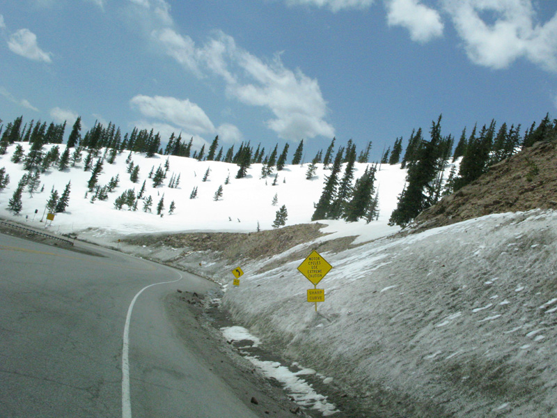 Monarch Pass on HWY 50 from Gunnison, CO