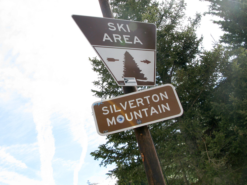 Proof we biked up Silverton Mountain to the Ski Area