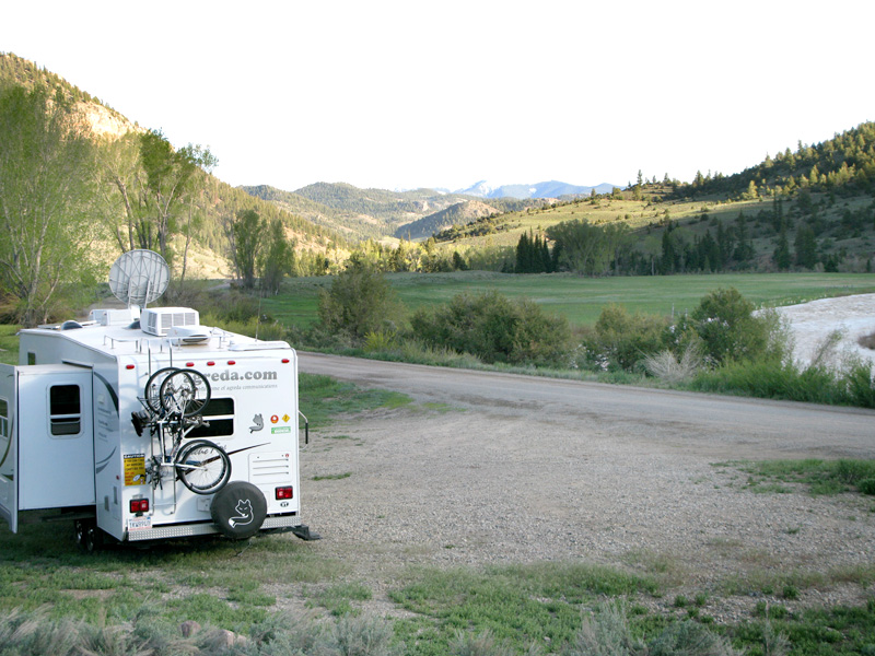 BLM boondocking Lake City Colorado