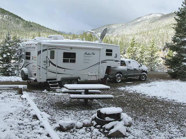 Turquoise Lake Leadville, CO Free RV Boondocking