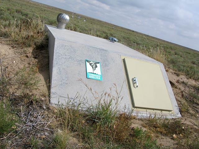 Sand Creek Massacre Historic Site Colorado Tornado Shelter