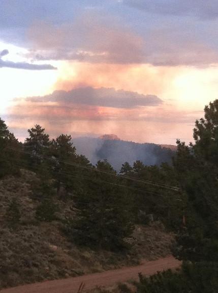 Beartrap Fire Crystal Lakes Colorado