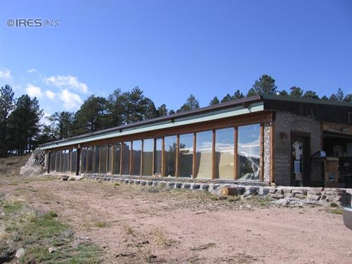 rural earthship home acreage for sale fort collins colorado