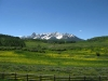 Colorado Mountains from CO HWY 62 near Ridgway