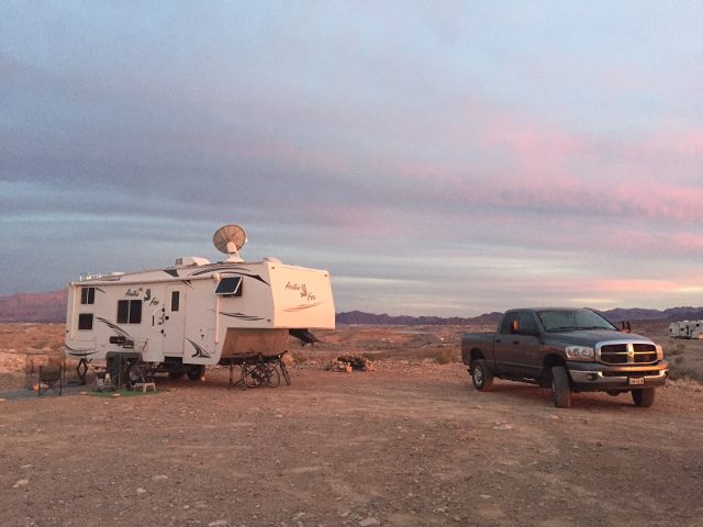 Lake Mead Boondocking