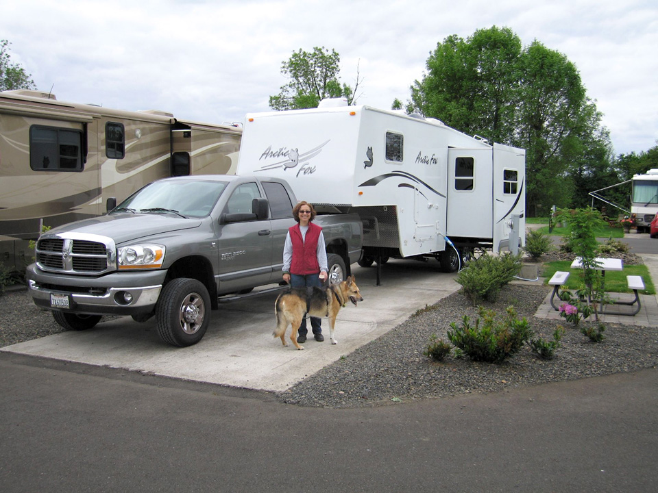 Premier RV Resort, Salem Oregon