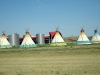 Modern Indian Reservation in  South Dakota