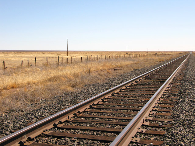 Marfa Mystery Lights Viewing Train Tracks