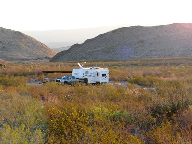 Black Gap, Texas, Big Bend, RV, camping