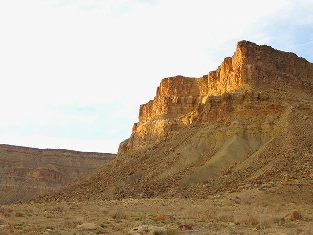 Book Cliffs over Green River Canyon Utah