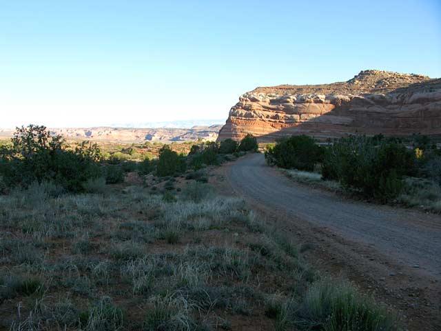 Dewey Utah Back Road