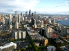 City view from Space Needle Seattle