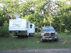 Boondocking in Fall Creek, WI