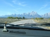 Grand Tetons and Dashboard Jackelope