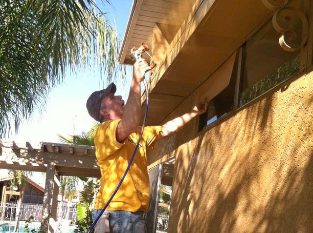 Painting RV Park Workamping Hemet, CA