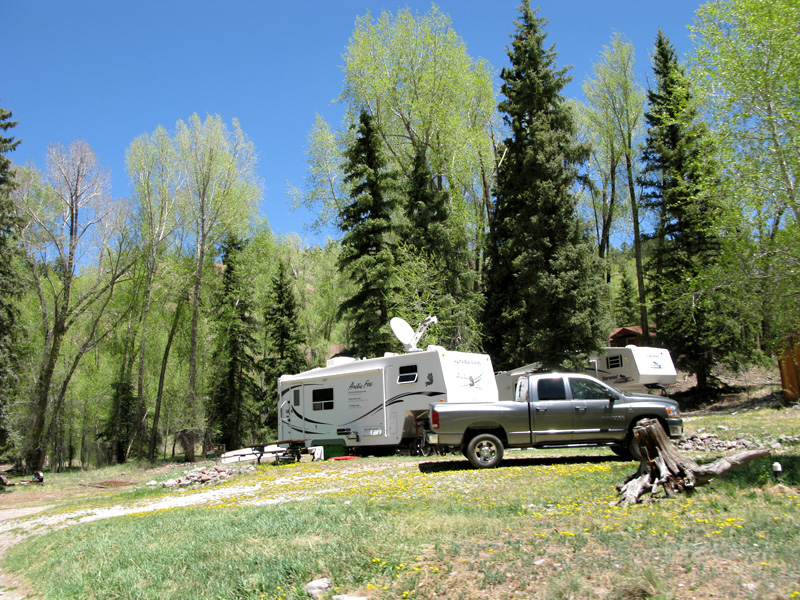 Lake City, CO Ranch Workamping RV Site