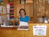 Rene works the front desk at Riverbend Hot Springs