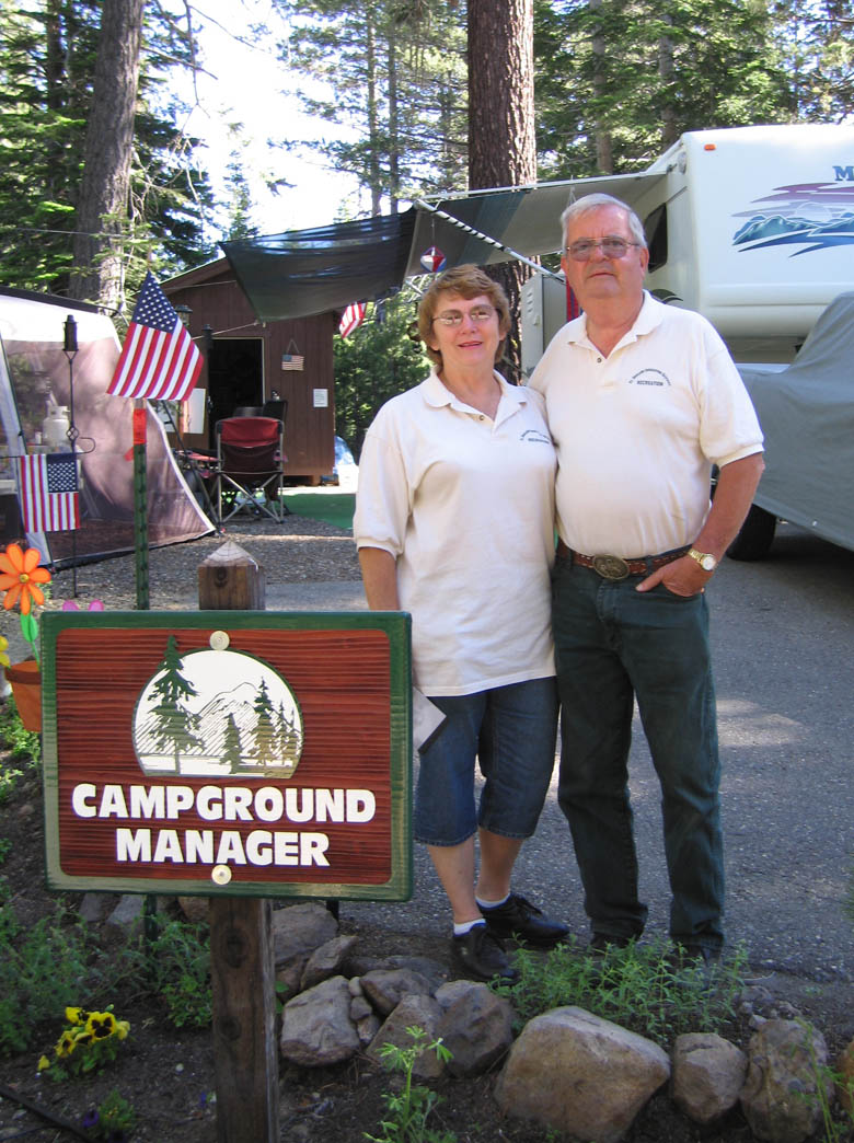 life as a campground host - Campground Manager