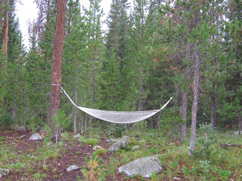 no hammock time